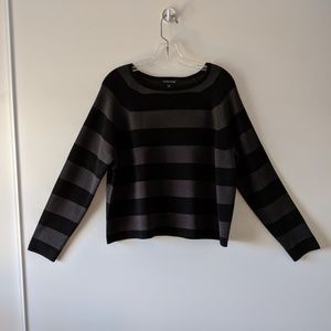 Eileen Fisher striped shirt